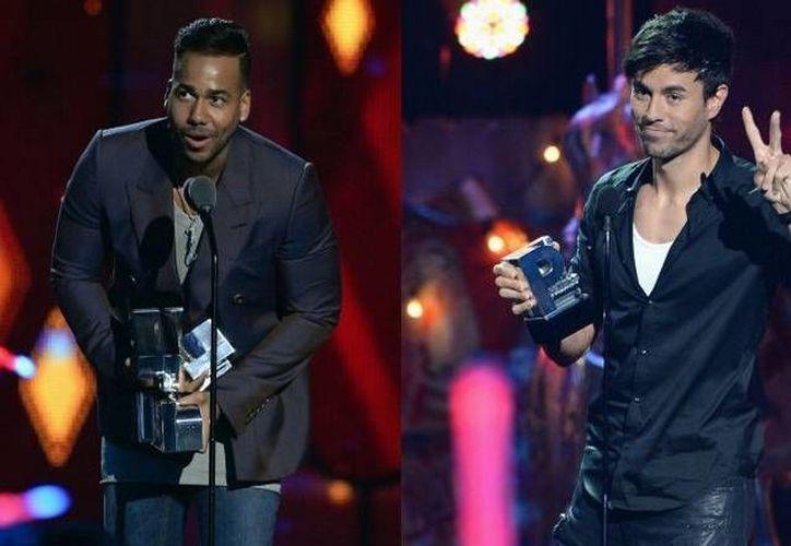Enrique Iglesias y Romeo Santos se llevaron cinco galardones cada uno de los Premios Juventud. (compubemba.blogspot.mx)