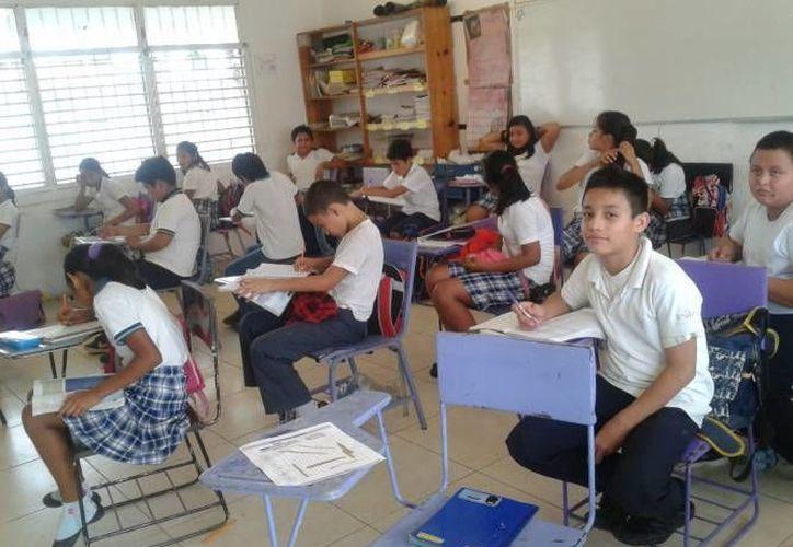 Los estudiantes que presenten los síntomas serán inmediatamente canalizados a sus domicilios. (Contexto/SIPSE)