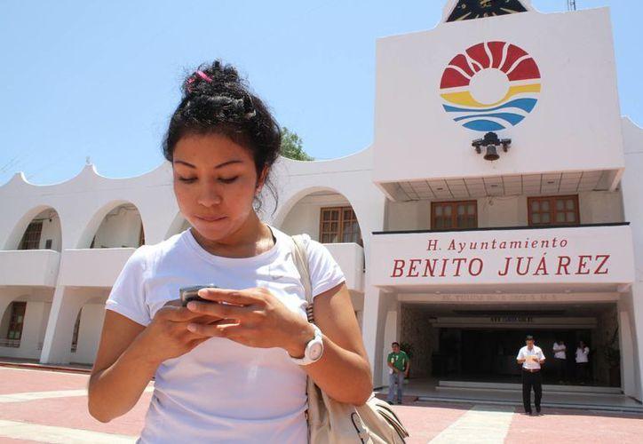 Será la primera aplicación de una dependencia municipal a nivel nacional. (Sergio Orozco/SIPSE)