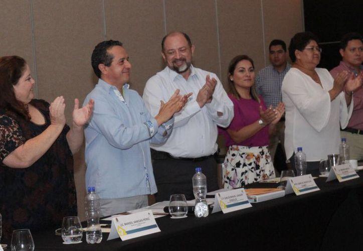 Darío Flota Ocampo quedó al frente del nuevo Consejo de Promoción Turística de Quintana Roo. (Foto: Redacción/SIPSE)