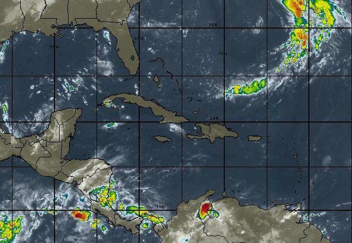 L.a probabilidad de lluvias en Cancún es del 10%. (Intellicast)