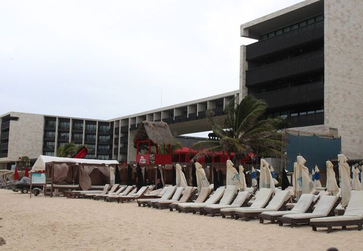 Revisan la explotación costera en el municipio de Solidaridad. (Adrián Barreto/SIPSE)