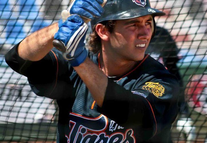 Francisco Lugo es una de las promesas del beisbol mexicano.  (entrelasbutacasylosbleachers.blogspot.com/Archivo)
