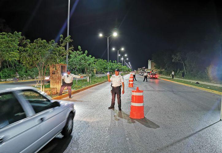 Implementan el programa para sancionar a los conductores alcoholizados. (Octavio Martínez/SIPSE)