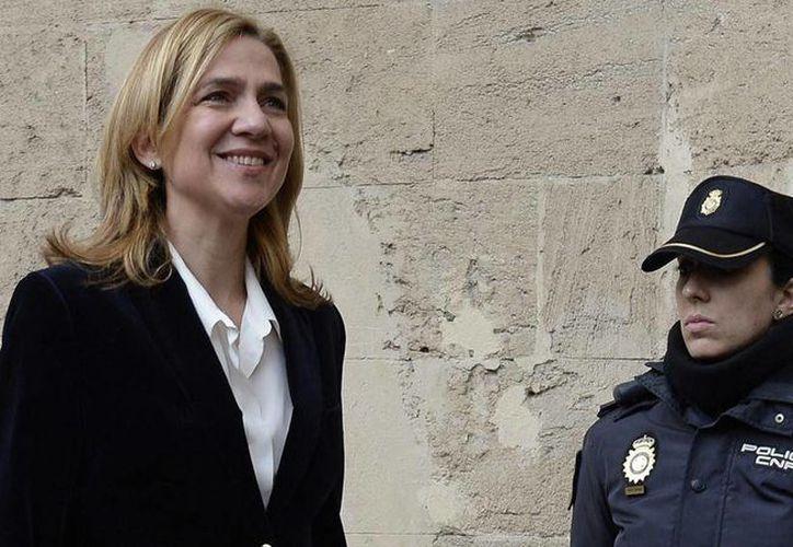 El juez José Castro de Palma de Mallorca dio a la hermana del rey hasta el viernes por la tarde para presentar la lista de sus bienes. (Archivo/AP)