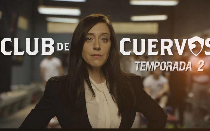 La serie dio a conocer la fecha del estreno de la segunda temporada, por medio de un video promocional, protagonizado por Isabel Iglesias (foto).(Netflix)