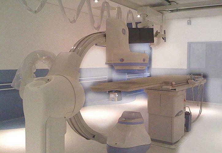 El equipo es de utilidad en la medición de los flujos y presiones del corazón y los impulsos eléctricos. (Cortesía/SIPSE)