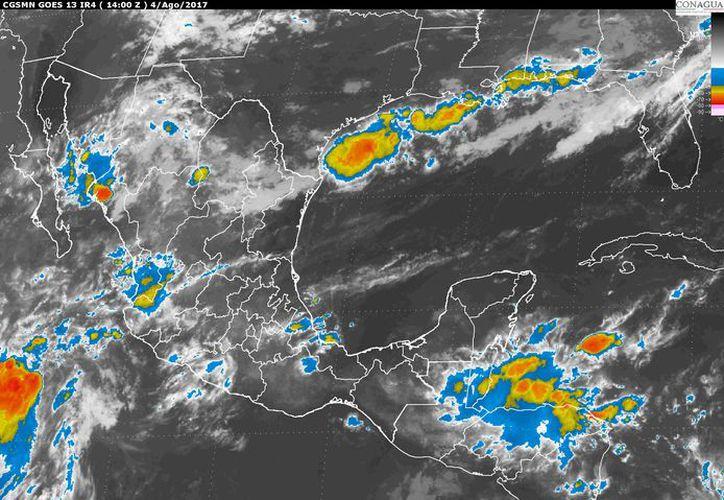 Para hoy se nubes matinales que se disiparán por la tarde en Chetumal. (Conagua)