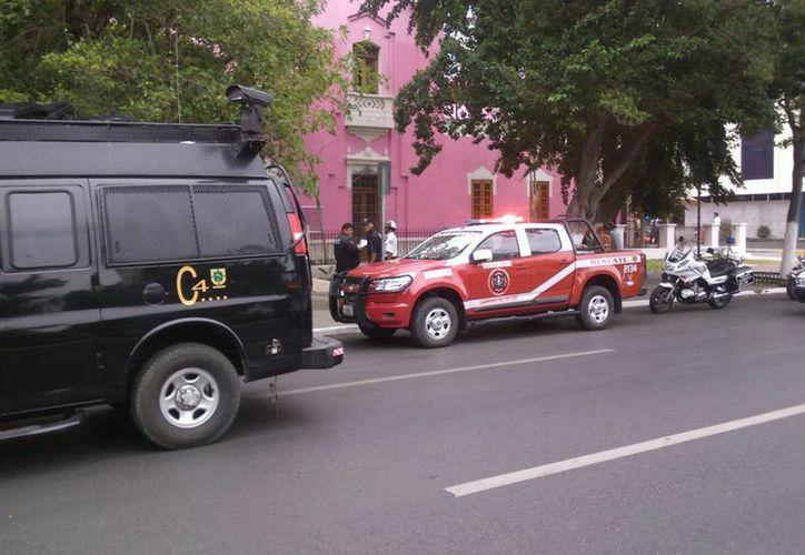 Se desconoce la causa del incendio en la sala de masajes del hotel Rosas y Chocolate, en Paseo de Montejo. (Luis Fuente/SIPSE)