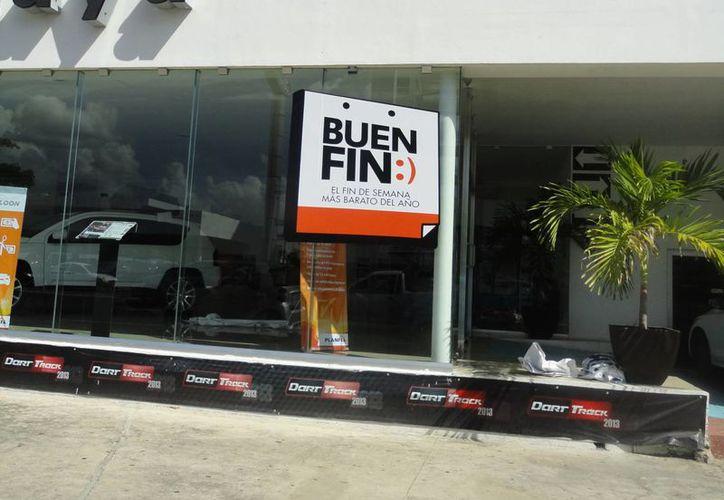 Esperan comerciantes un aumento en sus ventas por el Buen Fin. (Milenio Novedades)