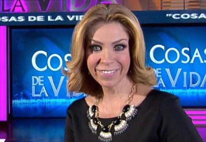 El programa 'Cosas de la vida', de Rocío Sánchez, dejará de transmitirse a partir del 31 de diciembre. (Archivo/Notimex)
