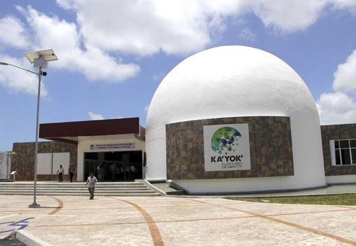 Las conferencias se llevarán a cabo en el Planetario de Cancún. (Contexto/Internet)