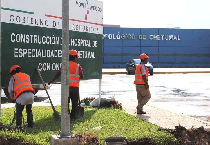 El Hospital de Oncología de Chetumal abrirá sus puertas hasta el próximo año. (Daniel Tejada/SIPSE)