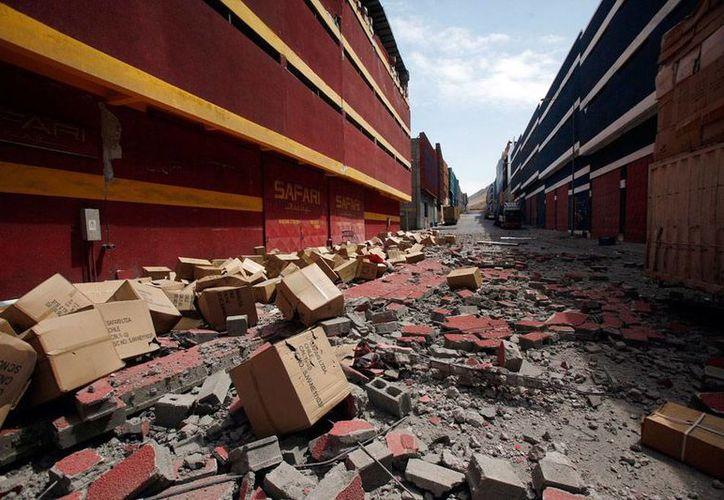 La cadena de sismos inició con el fuerte terremoto que sacudió a Chile el pasado 1 de abril. (Archivo/AP)