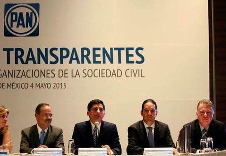 El titular del PAN, Gustavo Madero, aseguró que el partido no tolerará la corrupción entre sus militantes o candidatos. (Facebook/Partido Acción Nacional)