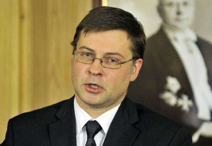 Valdis Dombrovski fue el primer ministro con mayor tiempo en el poder de la historia de Letonia. (Agencias)
