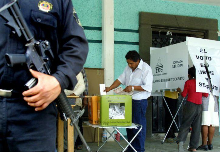 La Policía Federal mantiene un despliegue de más de 3 mil agentes en el Estado de México, alrededor de mil 300 en Veracruz, 260 en Nayarit y 350 en Coahuila. (Red Política)