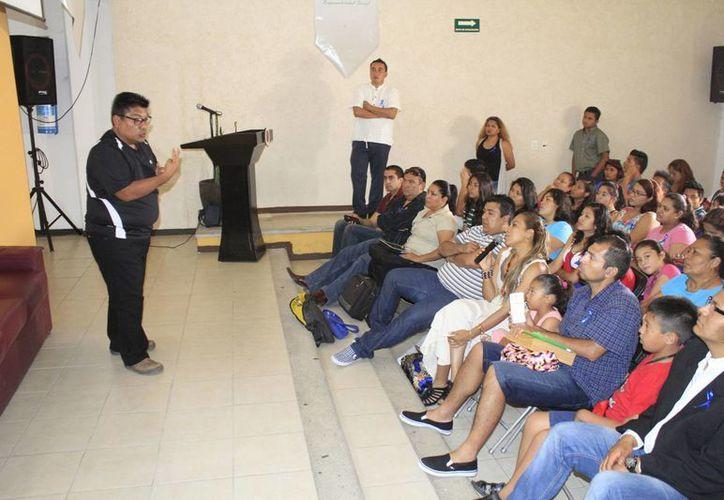 El encuentro se realizó en el auditorio de la Universidad del Sur. (Sergio Orozco/SIPSE)