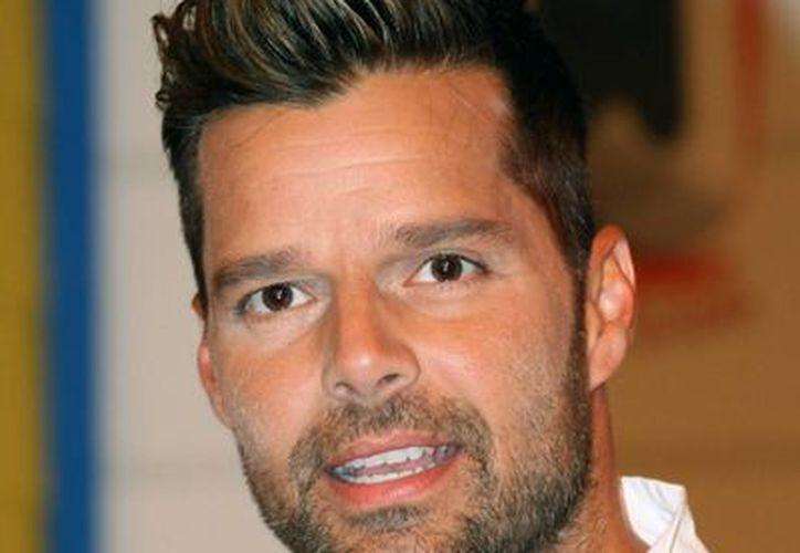 """Ricky Martin estrenó la versión """"spanglish"""" de su éxito """"Come With Me"""". (Agencias)"""