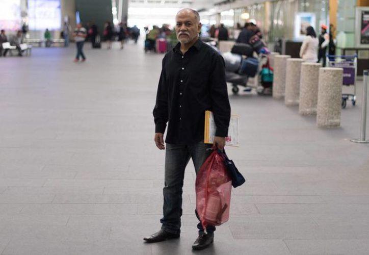 Efraín Fragoso, quien fue deportado de Estados Unidos, entró a ese país por primera vez hace 14 años. (Karlo Reyes/elpais.com)