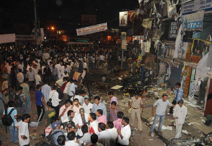 Mas de 190 personas aun se encuentran hospitalizadas por el doble atentado.(EFE)