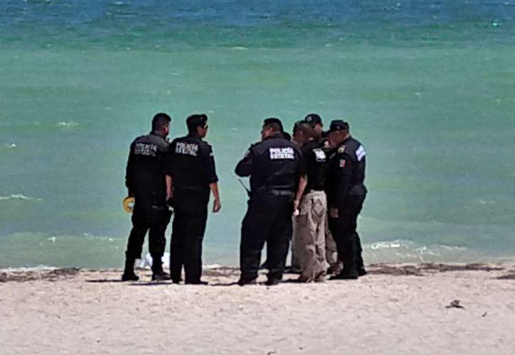 En el lugar de los hechos estuvieron presentes personal de la Policía municipal y estatal, Marina, fiscalía y SEMEFO, siendo estos últimos los que llevaron a cabo el levantamiento del cadáver. (Milenio Novedades)