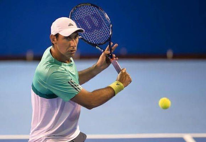 El mexicano seguirá su preparación en el torneo de Múnich, antes de iniciar su participación en Roland Garros. (Foto tomada de Facebook/Santiago González Página Oficial)
