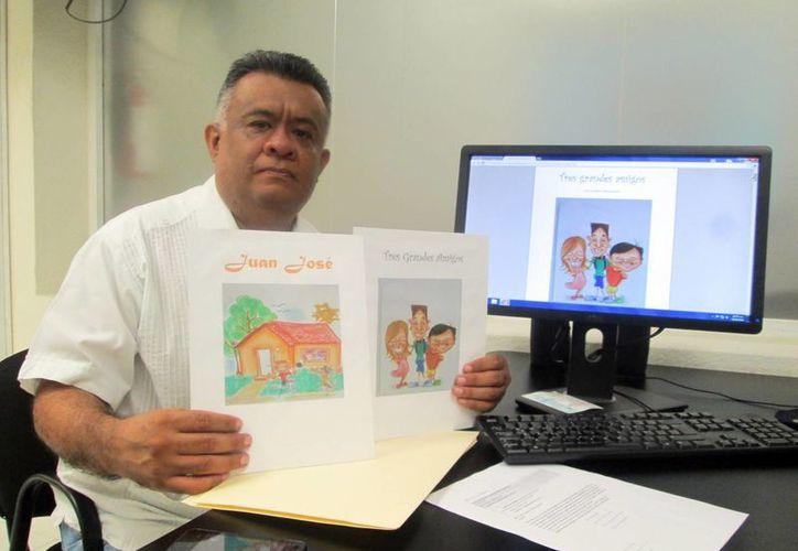 'Cuentos de Niños con Discapacidad' es una obra del maestro José Humberto Matos Colonia. (SIPSE)