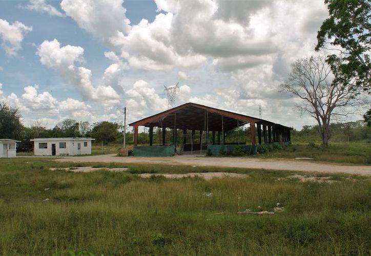 El predio de cuatro hectáreas, está donde antes era la bodega de la Conasupo, sobre la carretera federal. (Javier Ortiz/SIPSE)