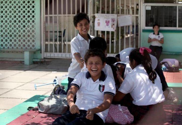 De acuerdo con el nuevo calendario escolar, en Yucatán las vacaciones de fin de año iniciarán el viernes 16 de diciembre próximo y el retorno será el lunes 2 de enero de 2017. (Amílcar Rodríguez/Milenio Novedades)
