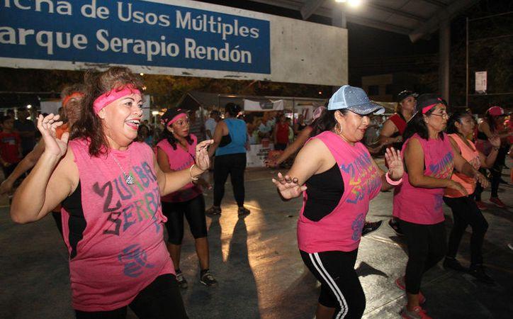 clase zumba escudo yucatan 2017