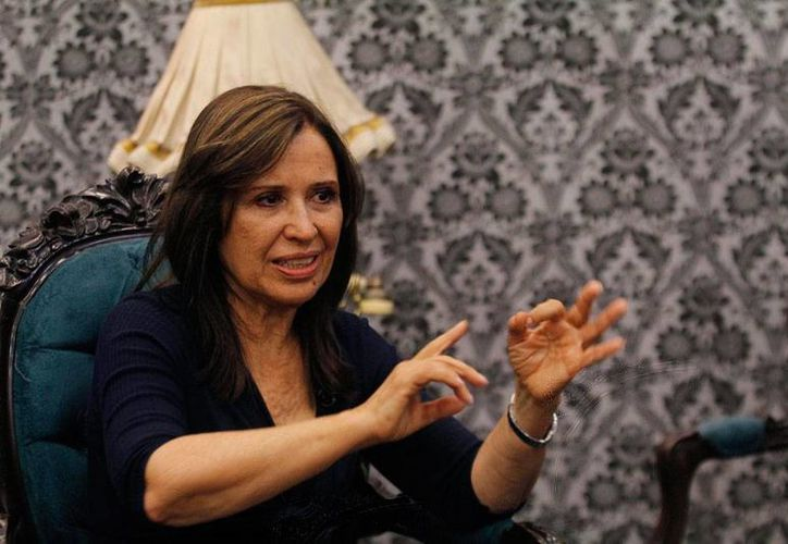 La actriz María Rojo ya no tiene más un 'papel' dentro del PRD: renunció al no ser elegida candidata en la delegación Cuauhtémoc del DF. (Archivo/NTX)