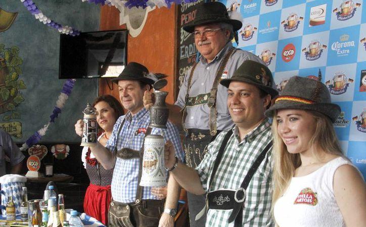 Ya es una tradición celebrar el Oktober Fest en Mérida. Habrá cerveza, repostería, comida y mucha diversión. (Milenio Novedades)