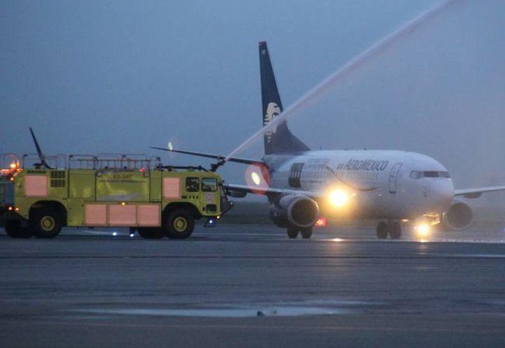 Debido al trágico accidente de un vuelo de Germanwings en los Alpes franceses, las medidas de seguridad han empezado a cambiar en aerolíneas en todo el mundo, como en México. (Foto de contexto de Notimex)