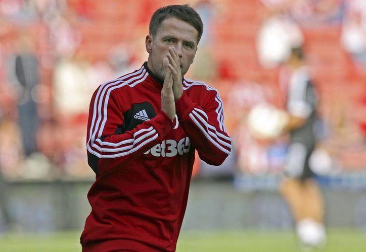 El delantero juega actualmente en el Stoke City. (EFE)