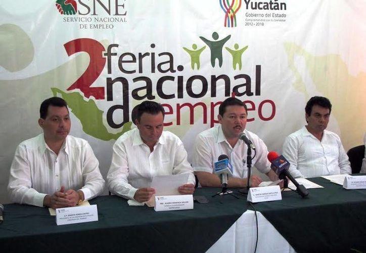 Autoridades instan a yucatecos a ser parte de las acciones de la STyPS. (Milenio Novedades)