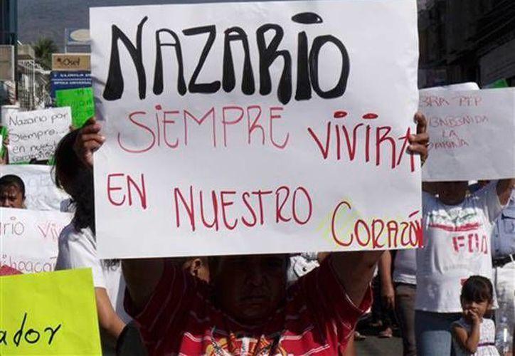 Después de su supuesta muerte, en 2010, se forjó una imagen de Nazario Moreno como un héroe popular. (Agencias)