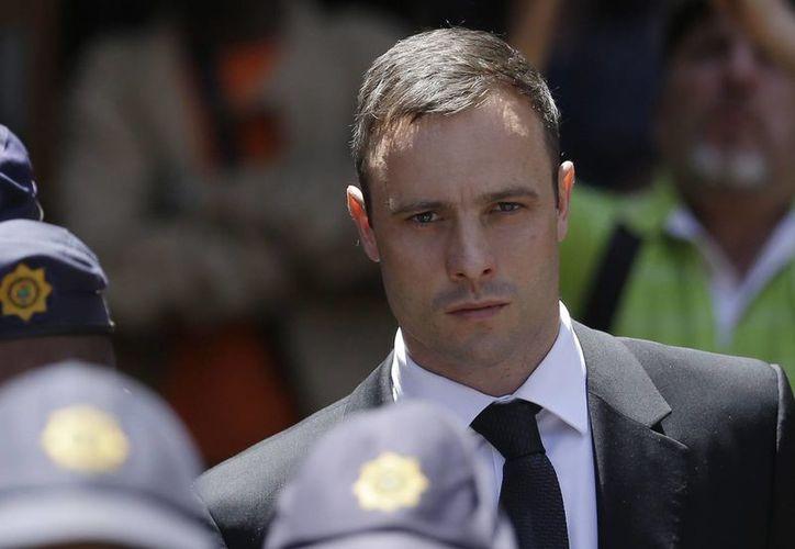 Pistorius mató a balazos a su novia el 14 de febrero del año pasado, y hace unos días fue condenado. (AP)