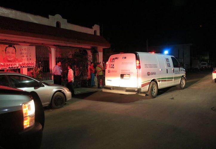 Marco Antonio Molina May, fue asesinado, a cuchilladas, en la puerta de su casa. (Harold Alcocer/SIPSE)