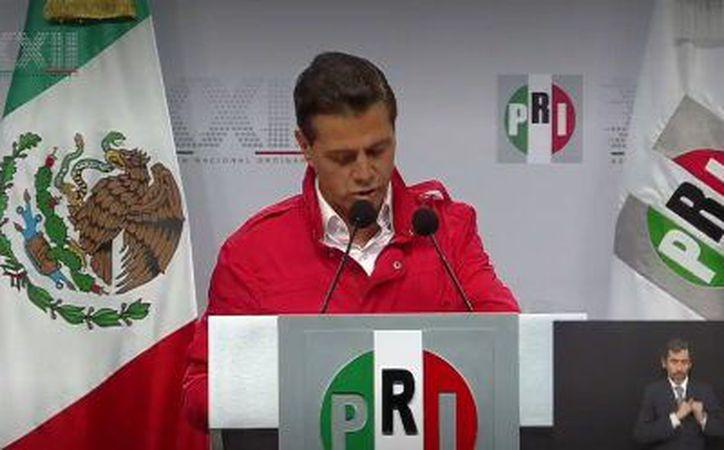 Enrique Peña Nieto dio el discurso inaugural de la Asamblea Nacional. (Redacción/SIPSE)