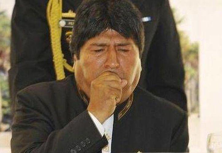 Por recomendación médica, el presidente de Bolivia será examinado por expertos cubanos. (Agencias)