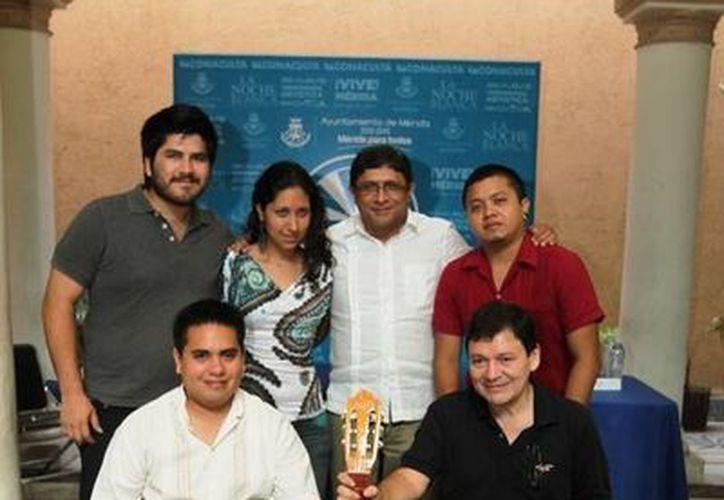 Artistas que ofrecerán conciertos como parte del programa 'Domingos de Cámara' de la Temporada Artística Olimpo Cultura. (SIPSE)