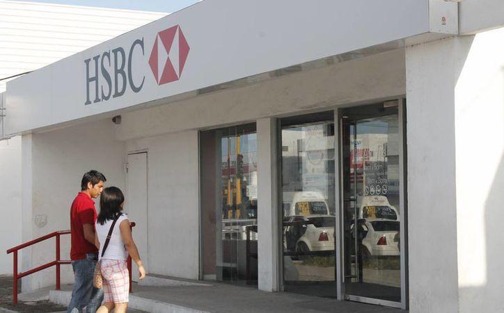 Intento de asalto en una sucursal de banco HSBC en en la Ciudad de México. (Foto de contexto. Archivo SIPSE)