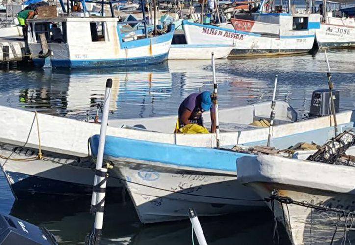 """La embarcación rivereña """"Quesoloco"""" arribó al puerto por el caso de descompresión. (G. Keb/Milenio Novedades)"""