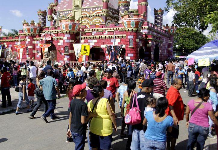 X'matkuil se despidió con la visita de más de 200 mil personas. (Christian Ayala/SIPSE)