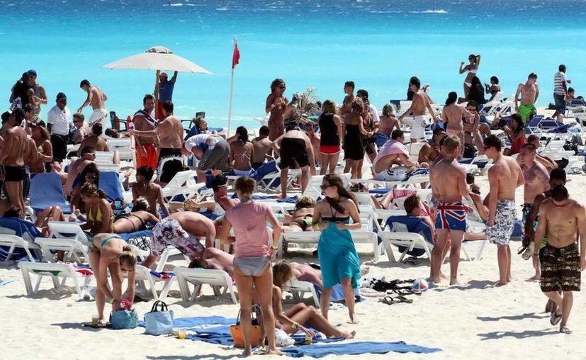 Estas dos semanas serán de gran afluencia para Cancún y la Riviera Maya. (Cortesía/SIPSE)