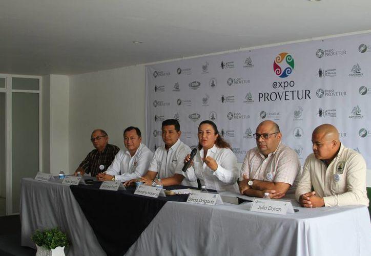 Participaron directivos de la Confederación Patronal de la República Mexicana. (Carlos Horta/ SIPSE)