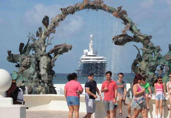 Se espera que lleguen alrededor de 100 mil turistas a la isla. (Redacción/SIPSE)
