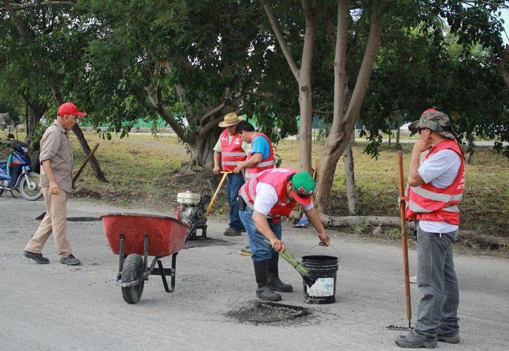 Además de la pavimentación, se crearon y rehabilitaron espacios públicos y canchas de fútbol. (Tomás Álvarez/SIPSE)