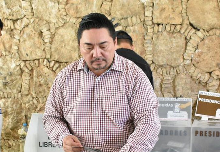 Marcos Celis Quintal, presidente del Tribunal Superior de Justicia. (Milenio Novedades)